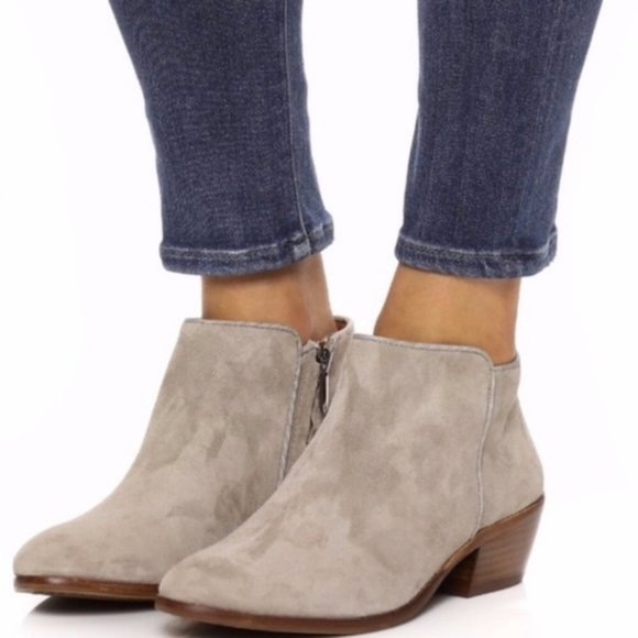 Sam Edelman Shoes - New Sam Edelman Petty Chelsea Ankle Boot Taupe
